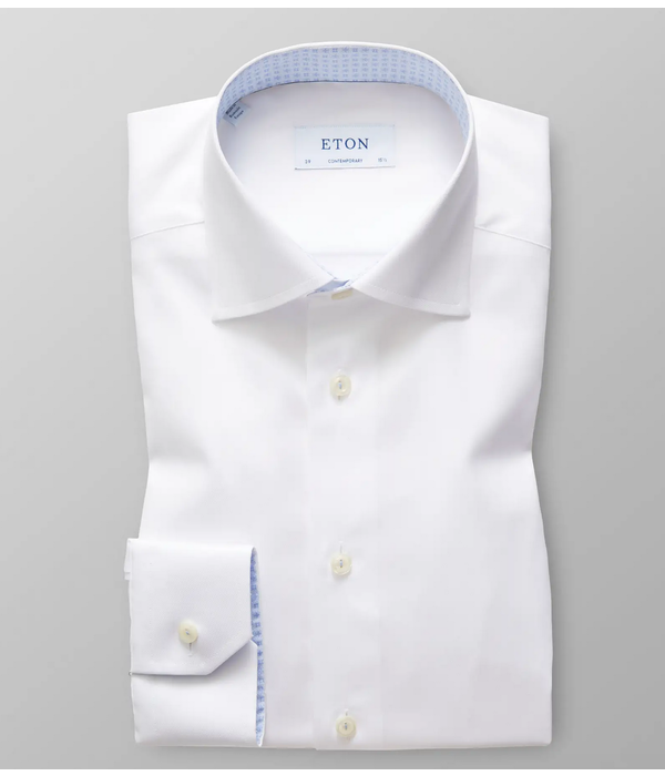 Eton dress-shirt wit cont.