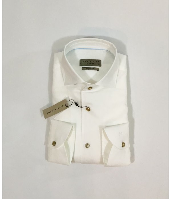 John Miller dress-shirt wit