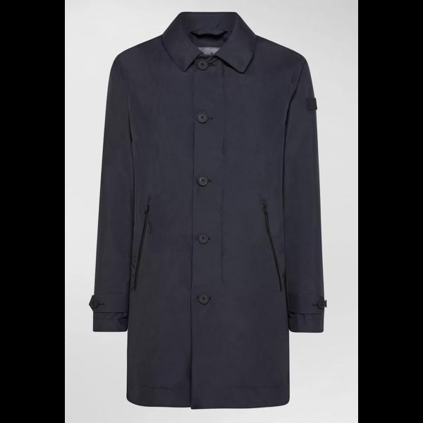 trench coat d. blauw garretson drp