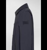 Peuterey trench coat d. blauw  garretson drp