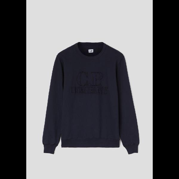 logo sweater d. blauw