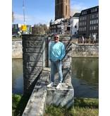 MC2 Saint Barth cooper sweater aqua