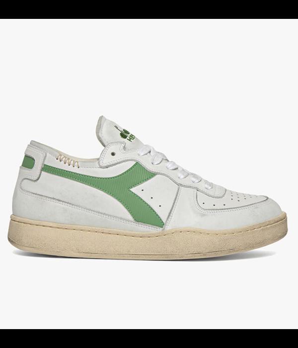 Diadora row cut sneaker wit/groen