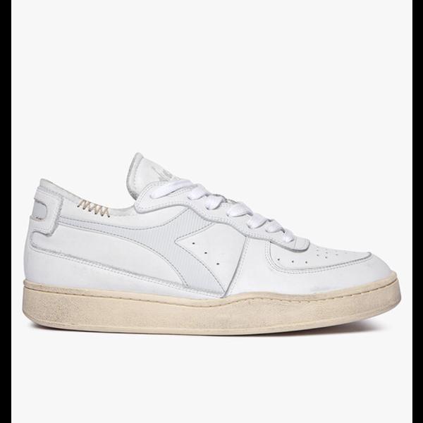 row cut sneaker wit