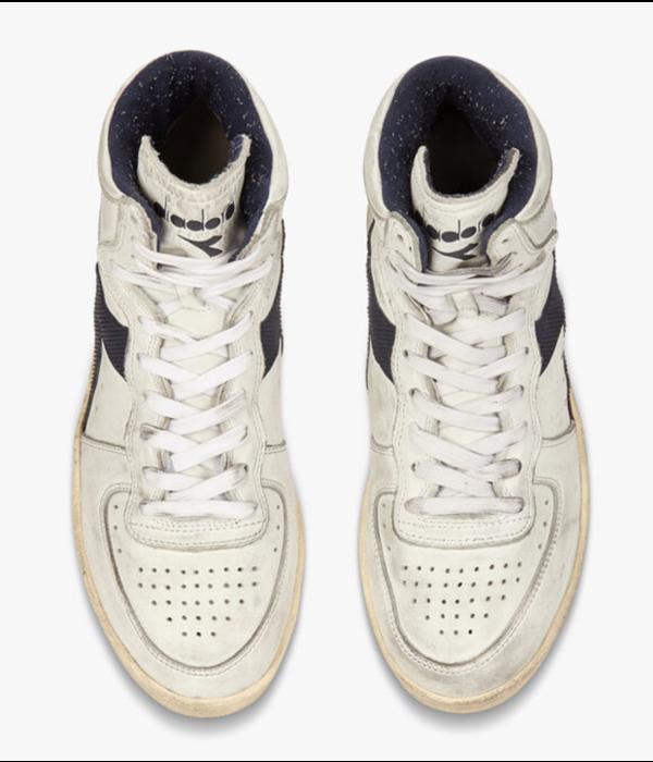 Diadora row cut sneaker blauw/wit