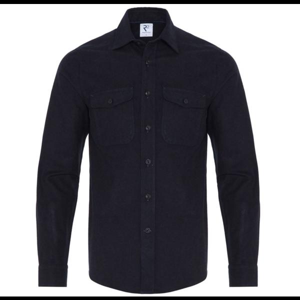 over-shirt d. blauw