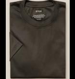 Eton filo T-shirt d. groen