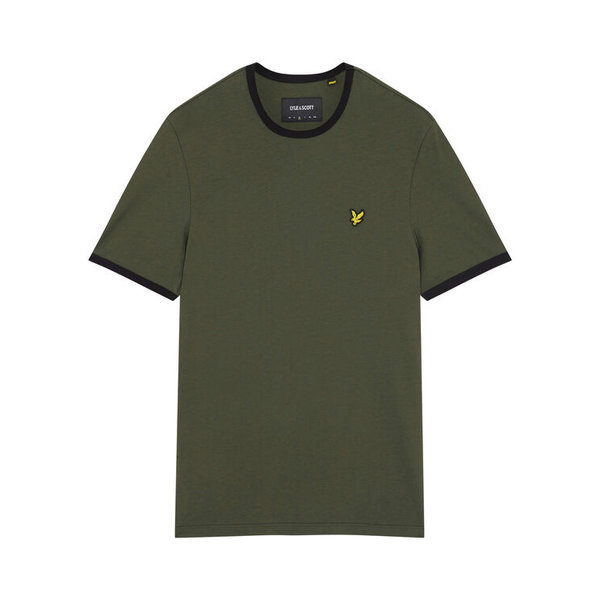 t-shirt ringer d. groen