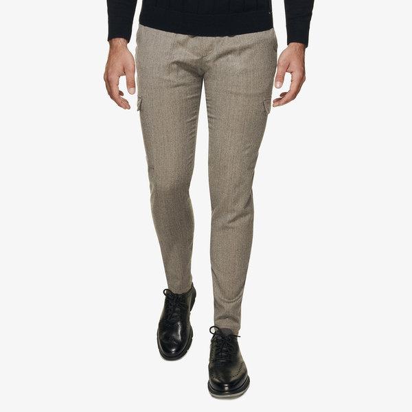 wollen cargo pantalon div. kleuren