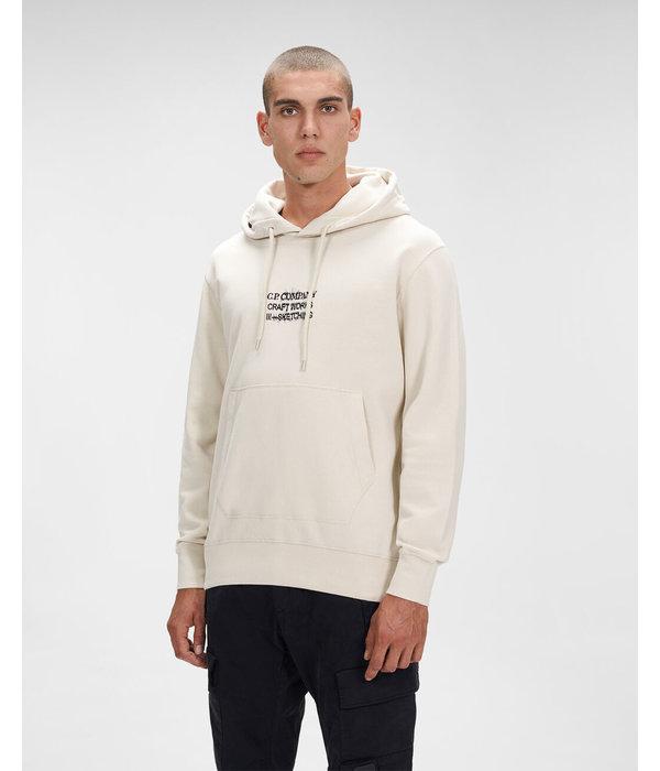CP Company fleece hoodie brused