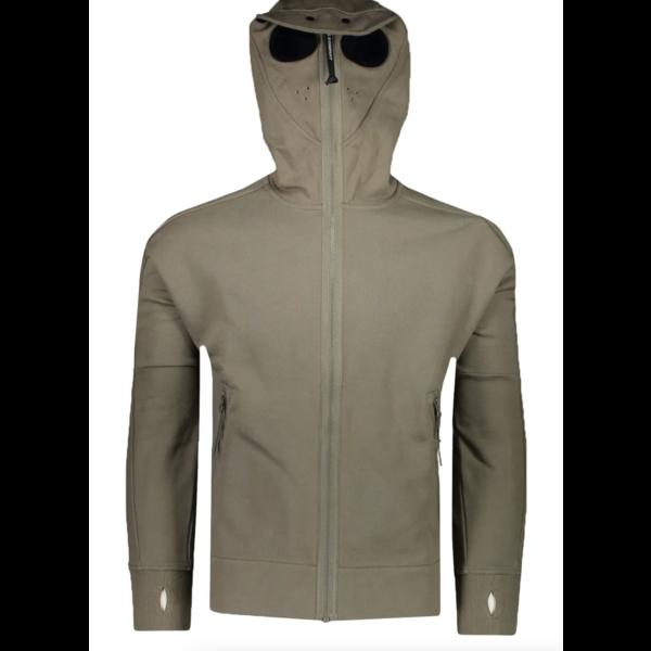 fleece goggle hoodie vest