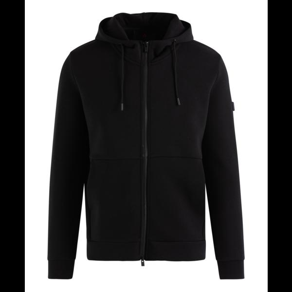 vest hoodie Phad kil zwart