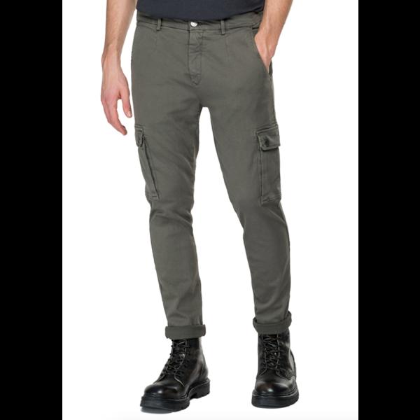 cargo jeans groen