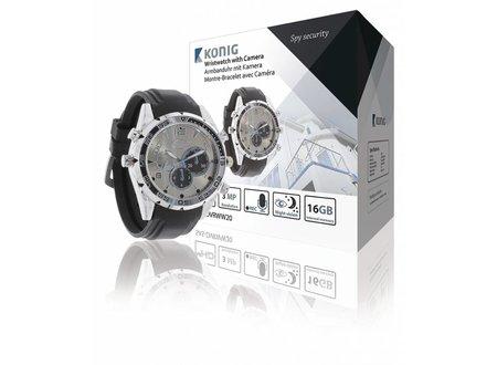 Konig Horloge met Full HD camera