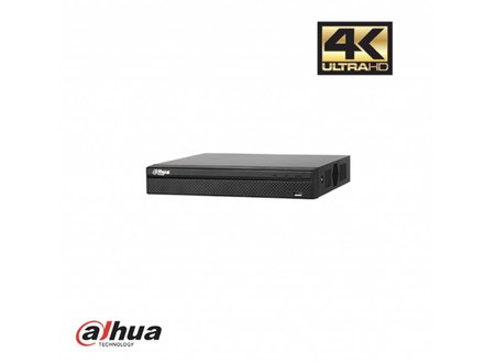 Dahua 4 Kanaals 4K incl. PoE recorder (Incl. 1Tb.)