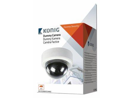 Konig Dome Dummy Camera IP60 Wit/Zwart
