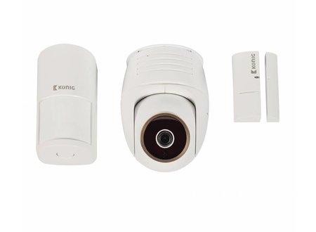Konig Full HD Smart IPcam-Set Binnen 1080P Wit