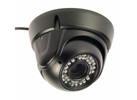 Konig Dome Beveiligingscamera 1000 TVL IP66 Zwart