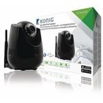Konig HD Pan-Tilt IP-Camera Binnen 720P Zwart