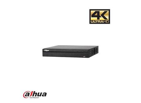 Dahua DAHUA 4 KANAALS 4K POE RECORDER INCL 1 TB HDD