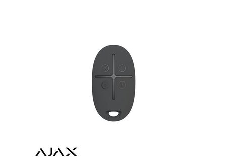 Ajax AJAX HUBKIT LUXE ZWART: GSM/LAN HUB, 2 x PIR, 2 * MC, AFB, KEYPAD, BINNENSIRENE