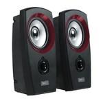 Sweex Speaker 2.0 3.5 mm 2 W Zwart/Rood