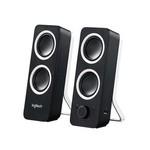 Logitech Speaker 2x 3.5 mm 5 W Zwart