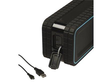 Sweex Bluetooth-Speaker 2.0 Explorer 12 W Ingebouwde Microfoon Zwart/Blauw