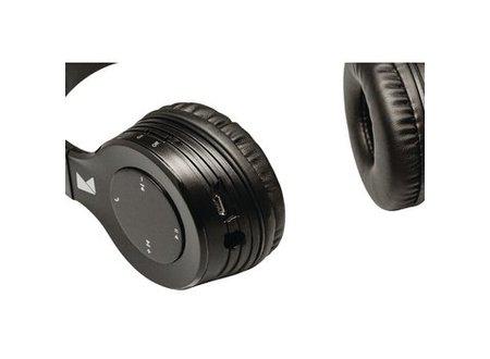 König Headset On-Ear Bluetooth Ingebouwde Microfoon Zwart