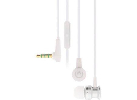 Mobilize Headset In-Ear 3.5 mm Bedraad Ingebouwde Microfoon Zilver