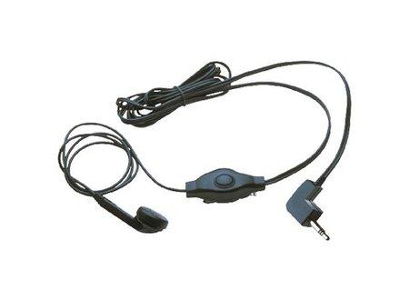 Cobra Headset In-Ear 2.5 mm Ingebouwde Microfoon Zwart