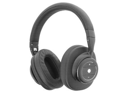 Sweex Headset Bluetooth / ANC (Active Noise Cancelling) Over-Ear Ingebouwde Microfoon 1.20 m Zwart/Zilver