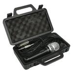 König Bedrade Microfoon 6.35 mm Zwart/Grijs
