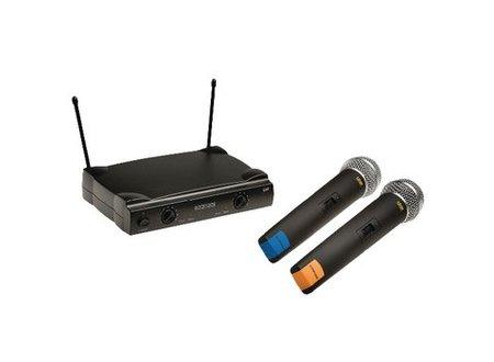 König 2-Kanaals Draadloze Microfoon Set 863 - 865 Mhz
