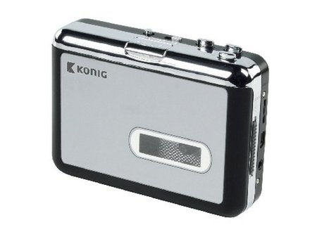 König Draagbare USB Cassette MP3 Converter