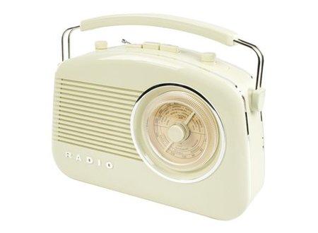 König Draagbare FM-Radio FM / AM Ivoor