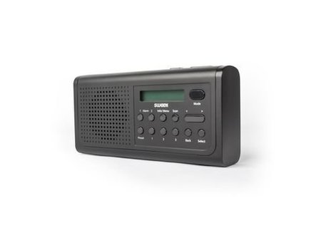 Sweex Draagbare DAB+ Radio DAB+ / FM 3 W Zwart
