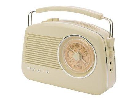 König Draagbare DAB+ Radio FM / AM / DAB / DAB+ AUX Beige