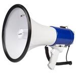 Sweex Megafoon Ontkoppelbare Microfoon Wit/Blauw