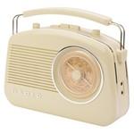 König Draagbare Bluetooth Radio FM / AM AUX Beige