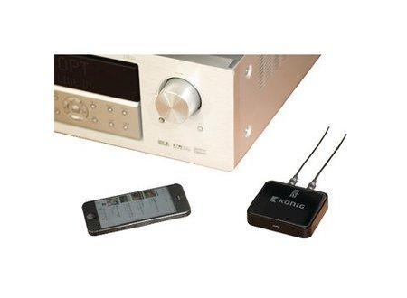 König Audio-Ontvanger Advanced Bluetooth SPDIF Zwart