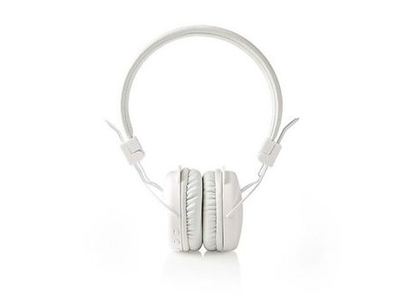 Nedis Draadloze hoofdtelefoon | Bluetooth® | On-ear | Opvouwbaar | Wit