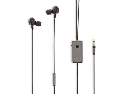 Nedis Bedrade hoofdtelefoon | In-ear | Actieve Noise Cancelling (ANC) | 1,2 m ronde kabel | Grijs