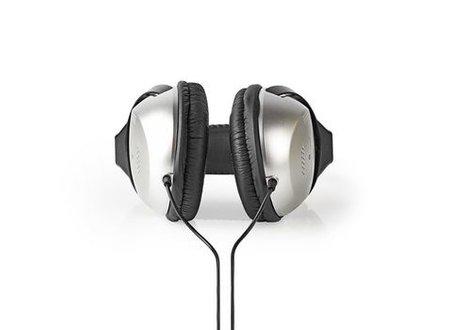 Nedis Over-ear Koptelefoon | bedraad 6,00 m | zilver/zwart