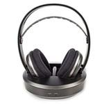 Nedis Draadloze hoofdtelefoon | Radiofrequentie (RF) | Over-ear | Oplaadstation | Zwart / zilver