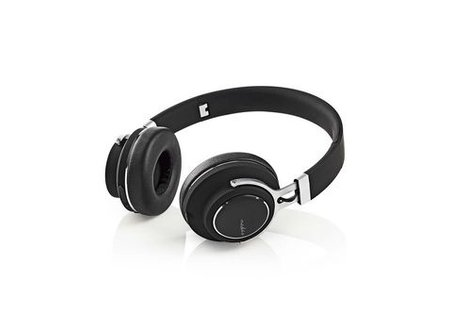 Nedis Draadloze hoofdtelefoon | Bluetooth® | On-ear | Travelcase | Zwart