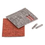 Twinner Glijstrips voor Combi Tool Grijs/Rood