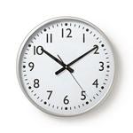 Nedis Ronde wandklok | Diameter 38 cm | Eenvoudig te lezen cijfers