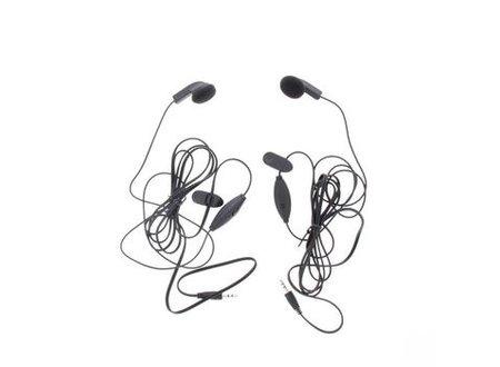 Cobra Headset In-Ear 2.5 mm Ingebouwde Microfoon 142 cm Zwart