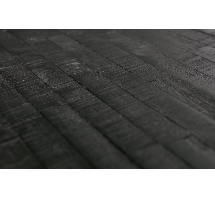 Sharing Bijzettafel Vierkant Zwart 38x60x60